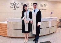 台大最美律師朱芷萱大解放,露出內在美讓人戀愛