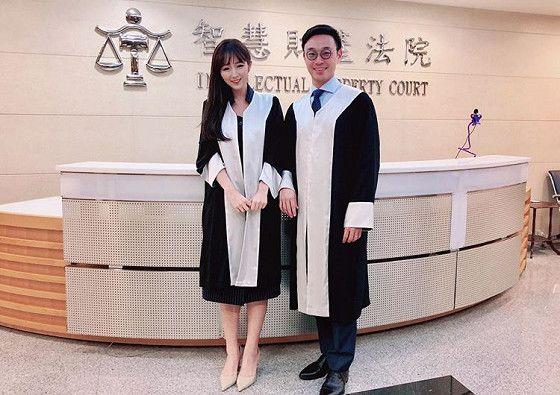 台大最美律師朱芷萱(圖/翻攝自朱芷萱臉書)