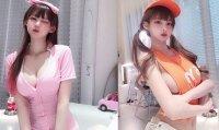 叛逆韓國正妹偷藏「雪白粉嫩大木瓜」超大乳量
